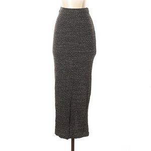 Zara W&B Column Maxi Skirt